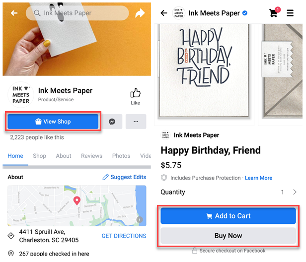 Ink Meets Paper Shoppable Content