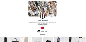 Shoppable content from brands Pinterest
